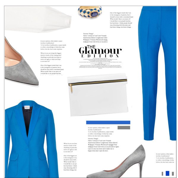What To Wear With Blue Blazer For Women 2019