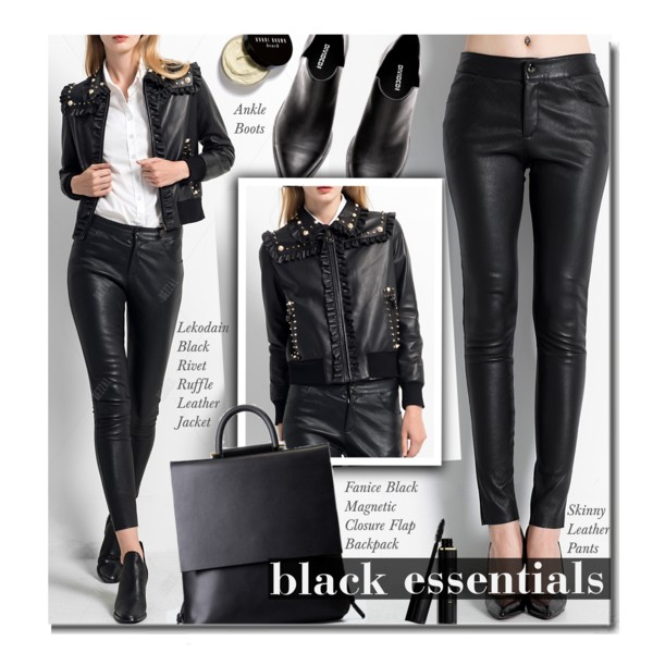 Black Leather Jackets Simple Looks To Copy 2019