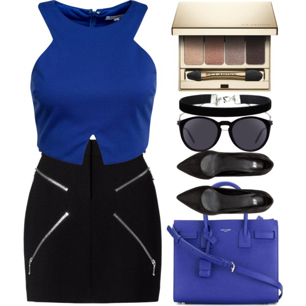 Blue Bags Outfit Ideas To Copy Now 2019