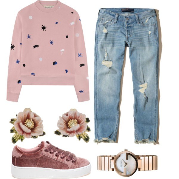 Boyfriend Jeans And Sneakers Outfit Ideas 2021