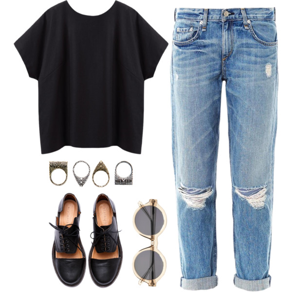 How To Wear Boyfriend Jeans In The Summertime 2021