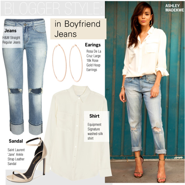 How To Wear Boyfriend Jeans With Heels 2019