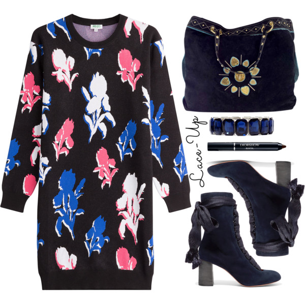 Knitted Dresses With Ankle Boots 2020