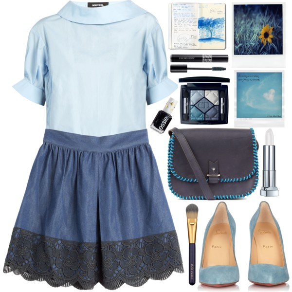 Blue Tops For Women: Interesting Ways To Wear Them Now 2019