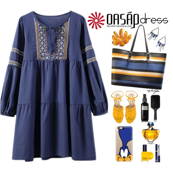 Blue Dresses in Different Styles: 16 Ideas To Wear Them 2019