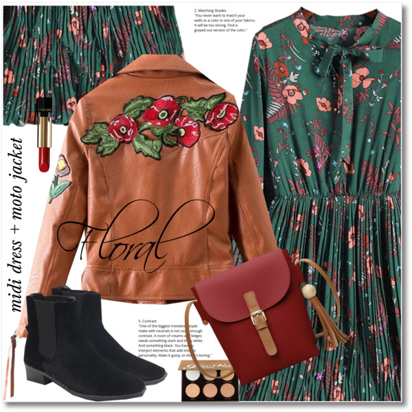 How To Wear Printed Dresses With Ankle Boots 2019