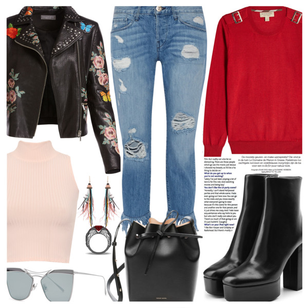 Ripped Jeans And Ankle Boots Outfit Ideas 2019