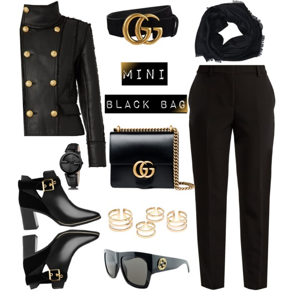 Trendy Black Bags Outfit Ideas 2019
