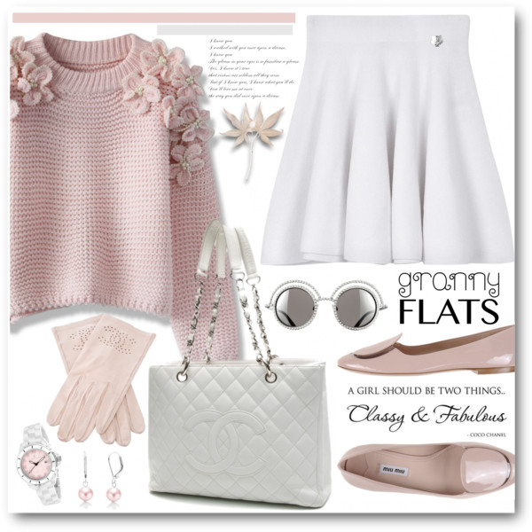 What To Wear With Pink Flat Pumps 2020