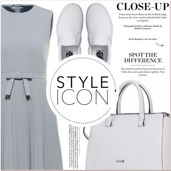 White Slip On Shoes Outfit Inspiration For Young Women 2020