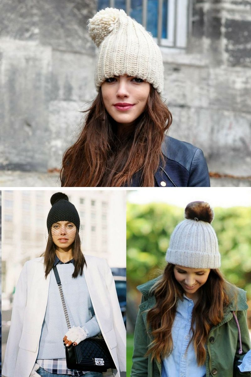 Pom Pom Beanies For Cold Winter Days 2019